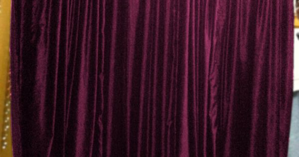 Plum Color Royal Pure Velvet Curtains Drapes Panel By Lavishmart 11901 Bedroom Loves