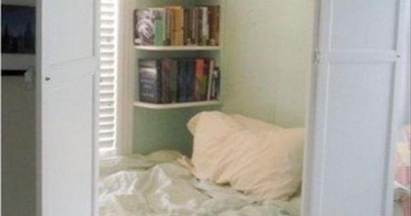 A Beautiful Day Bed Hidden In A Closet 31 Beautiful