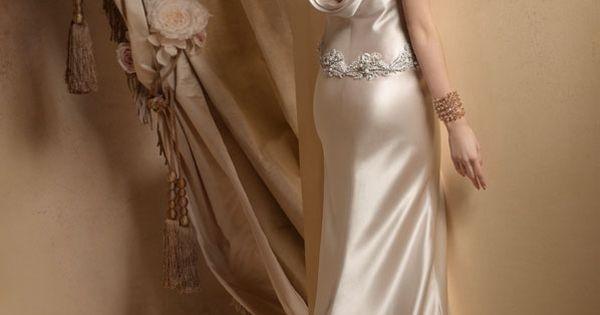 Wedding Dresses Ivory Charmeuse