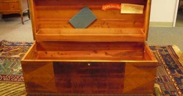 Vintage Lane Cedar Chest It Is Presently Full Of Stuffed