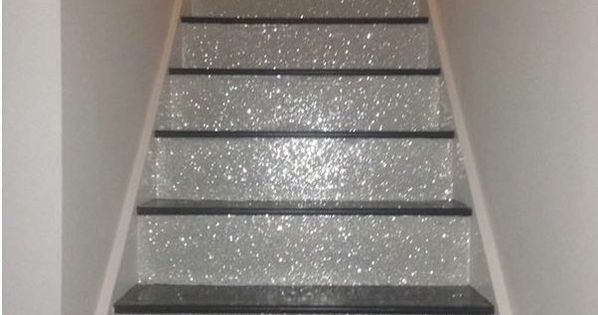 Glitter Stairs Ideas Pinterest Glitter Stairs   Glitter Stairs With Carpet