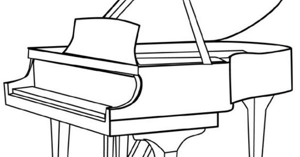 piano coloring pages  google search  piano  pinterest