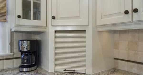 Corner Bread Box Built In Cabinet Id Exchange The