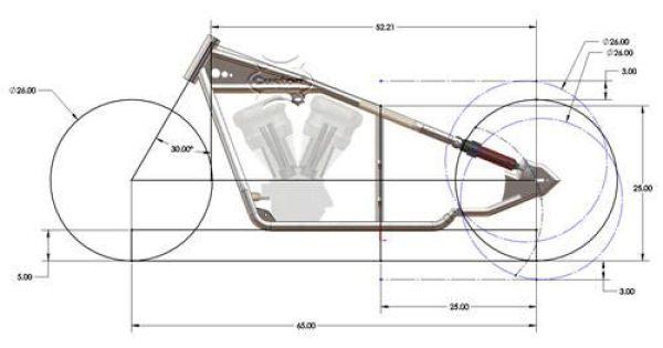 Standard Motorcycle Frame Dimensions   Frameswalls.org