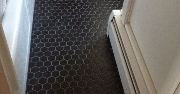 Matte Black Tile With Charcoal Grout Thayer Amp Reed