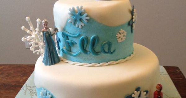 Disney Frozen Birthday Cake Frozen Candle By