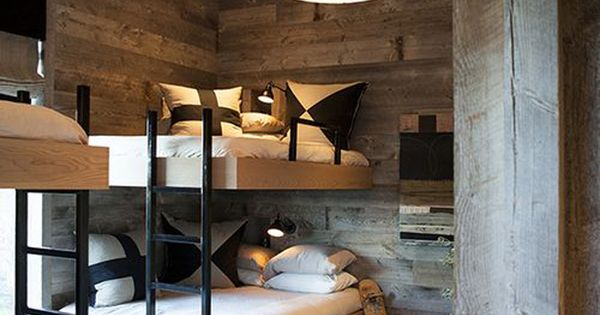 Rustic Bunk Beds For Adults Ken Linsteadt Architects Santa Fe Ranch House Pinterest Bunk