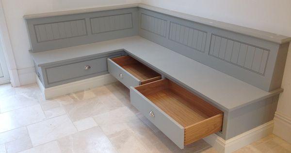 Tom Howley Bench Seat With Storage Draws