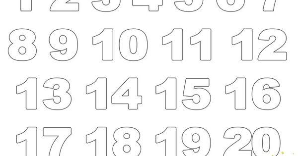Zahlenschablonen Zum Ausdrucken Kostenlos 09 Zahlen