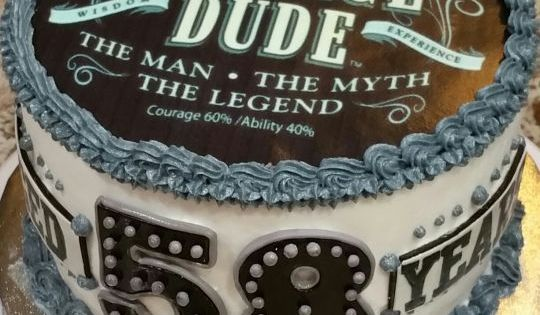 Popular Quot Vintage Dude Quot Themed Birthday Cake Awesome