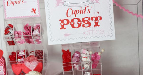 Cupid's Post Office - Valentine's Day Party | Valentine ...