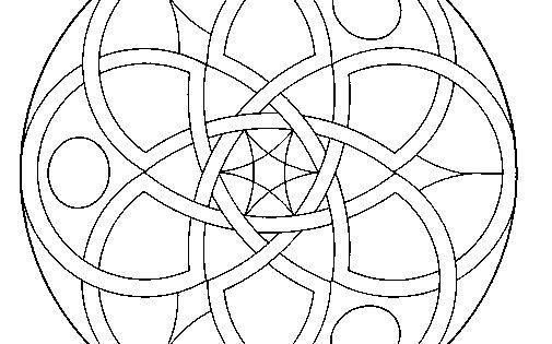 Dibujo De Mandala 11 Para Pintar Y Colorear En Lnea