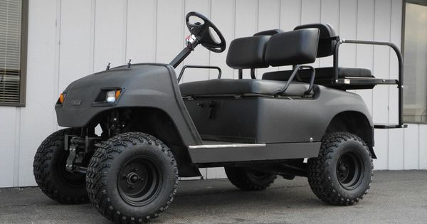 This Blacked Out Tough Little Yamaha G16 Topless