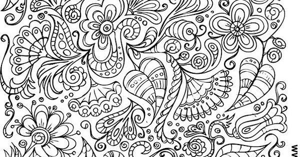Doodle Coloring Page 106 Malvorlagen Pinterest