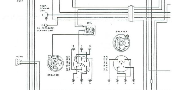 1971 Jeep CJ5 Wiring Diagram