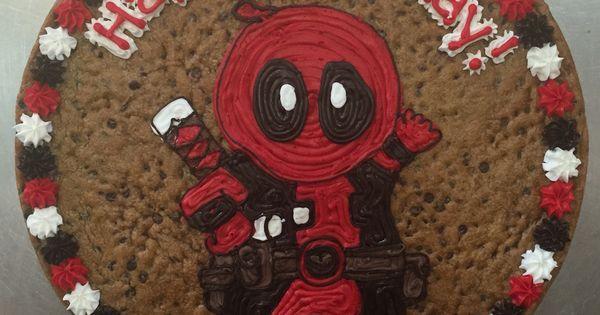 Cute Deadpool Cookie Cakes Pinterest Deadpool And
