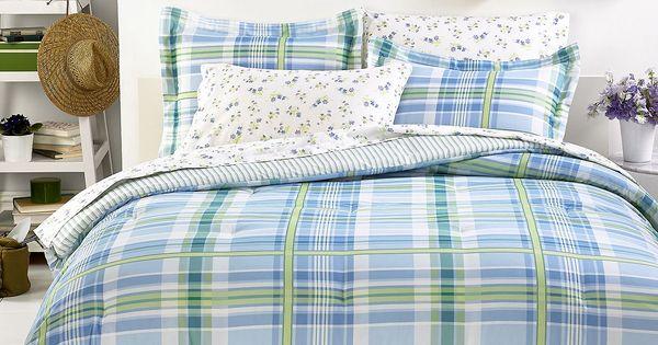 Tommy Hilfiger Bedding, Blue Hill Comforter Sets