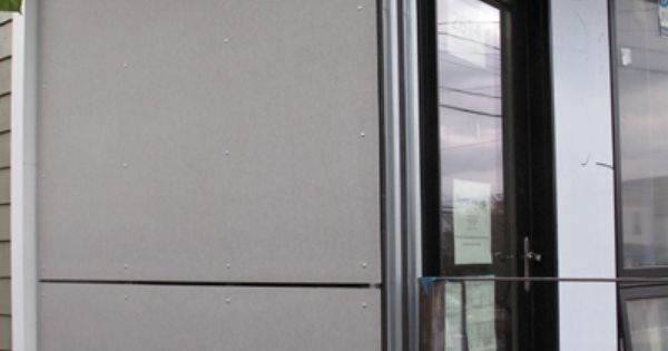 Hardi Panel Open Joint Rainscreen System Construction