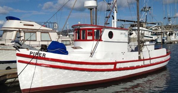 The Piper Is A 34ft Monterey Salmon Troller Built In 1926