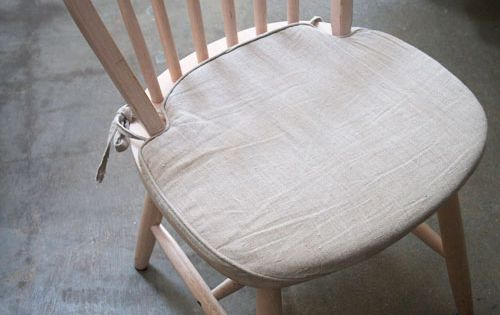 KITCHEN CHAIR CUSHIONS - DIY