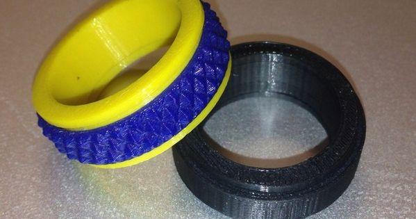 Customizable Fidget Spinner Ring By AmazingSpanoMan Http