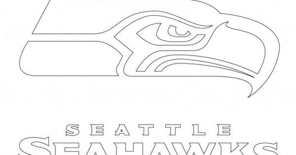 printable seattle seahawks logo coloring pages  kidskat