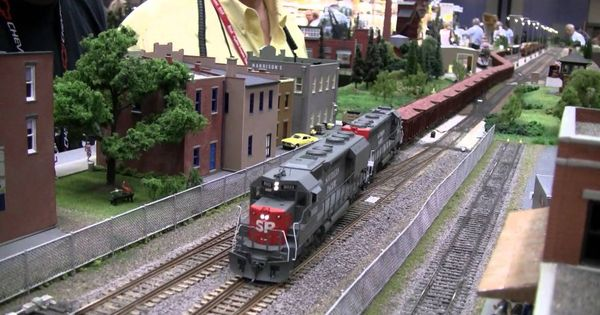 We Don't Have Real Trains But Scale Model Train Scenery