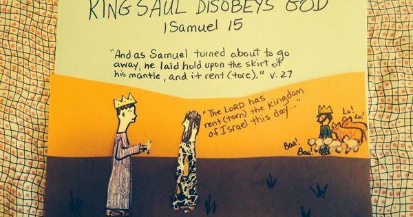 King Saul Disobeys God On The Blog Tonight And Loses His