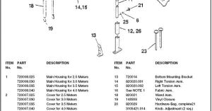 Dometic RV Awning Parts Diagram | Camping, R V wiring, Outdoors | Pinterest | Motorhome, Rv and