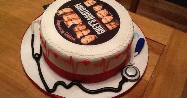 Greys Anatomy Cake Cakes Pinterest Grays Anatomy
