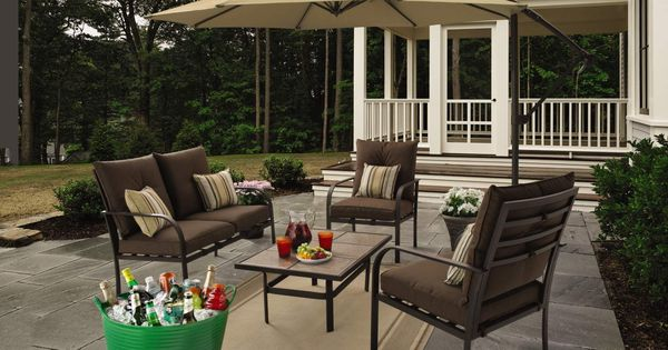 Gardenline 4-Piece Conversation Set From ALDI