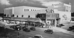 The Sears that looks like it's wrapped in cardboard   Main ...