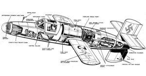 Bachem Ba 349 Natter rocket powered fighter aircraft