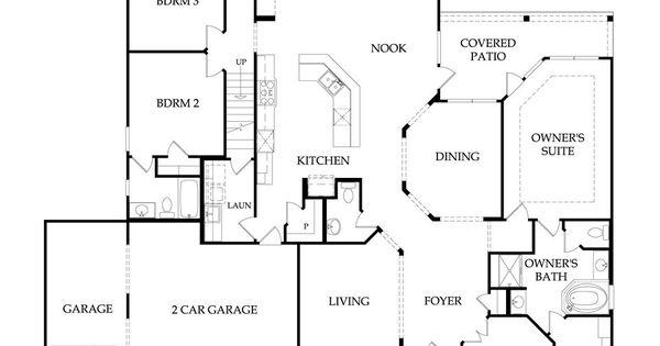 Floor Plans - Pulte 1 Story