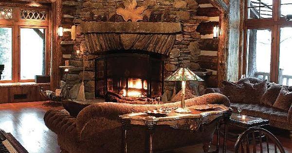 Rustic Elegance Ralph Kylloe Cabin Interiors