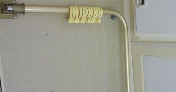 Folding Shower Curtain Rod Our Airstream Pinterest Shower Curtain Rods And Airstream