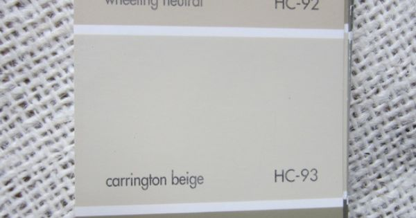 Benjamin Moore Carrington Beige And Wheeling Neutral Home Pinterest Benjamin Moore