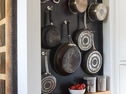 A Beautiful And Creative Way Of Hanging And Storing Pantry Essentials Also A Great Way To Use