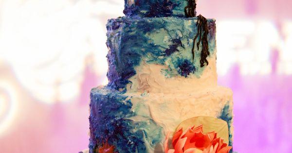 Monet Hand Painted Sugar Flower Cake Shop Birthday