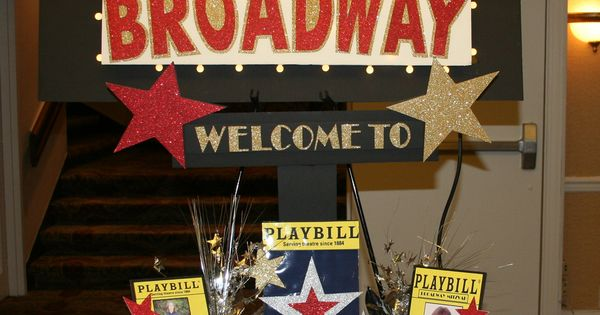 Broadway Centerpieces Google Search Bulletin Boards