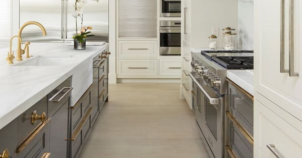 Tow Tone Kitchen Two Ivory Gray Pale