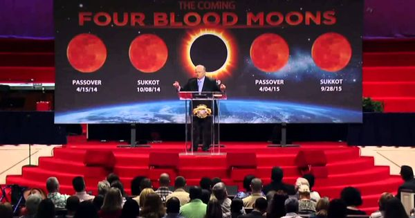 John Hagee 2015 | The Coming Four Blood Moons | Blood Moon ...