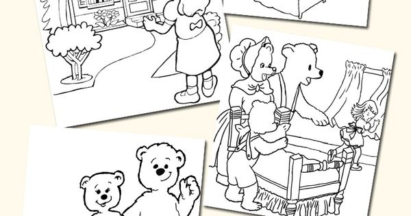 top 10 free printable goldilocks and the three bears