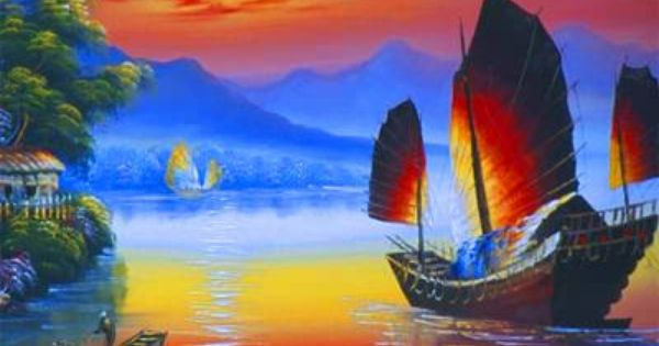 China Sunset Jigsaw Puzzle - JigZone.com