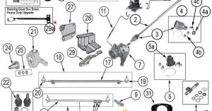 Interactive Diagram  Jeep CJ Steering Components | Jeep