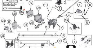 Interactive Diagram  Jeep CJ Steering Components | Jeep