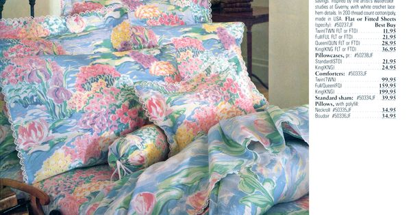 Monet Lilies Bedding Bedding Pinterest Monet Bedspreads Comforters And Bedspread
