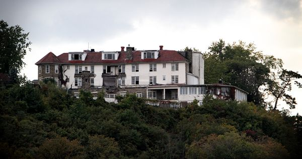Hilltop House Hotel Harpers Ferry Wv Abandoned And