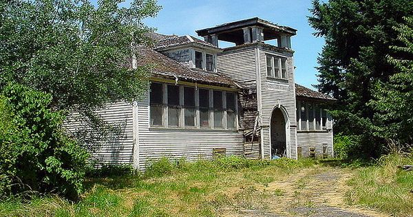 Would love to see this: The old, abandoned schoolhouse in ...