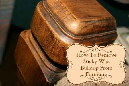 How To Remove Wax Buildup From Furniture EASILY